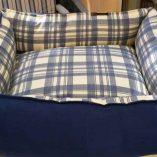 Bett-blau-Karo2